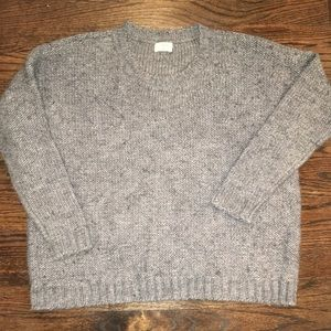 Madewell Wallace chunky wool blend knit sweater